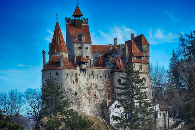 Transylvania is home to some of Europe's best-preserved medieval towns, most notably:<br>- Brașov city, featuring Old Saxon architecture and citadel ruins; <br>- Sibiu city with its cobblestone streets and pastel-colored houses;<br>- Sighișoara city, adorned with a hilltop citadel, secret passageways and a 14th century clock tower. Tiny shops offer antiques and fine hand-made products by local artisans and artists.<br><br>Visitors to Transylvania will also encounter stunning castles such Bran, near Brasov, - a Gothic fairy-tale structure, often associated with 15th century Walachian Prince Vlad Tepes, the inspiration for Bram Stoker's Dracula.