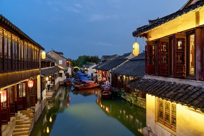 Private Tour to Zhouzhuang Water Town from Shanghai with Lunch, Shanghai, CHINA