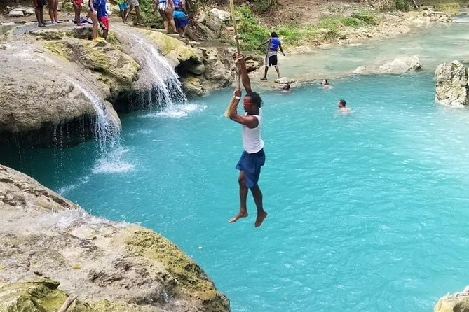 Blue Hole from Ocho Rios, Runaway Bay, JAMAICA