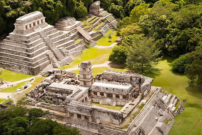 This tour is the perfect choice to visit 3 beautiful places in only one day. With our comfortable vehicles and our kind guides, we are sure you will take home a nice adventure.<br>This tour will take you to the fascinating archaeological site of Palenque, located deep in the jungle, as well as to two beautiful breath-taking waterfalls, Agua Azul, famous for its translucent blue waters and Misol-Ha, which featured in the action movie Predator. Swim, explore and be surprised during this fantastic day-trip!