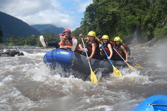 Rafting sobre el río Pastaza nivel lll+ y lV 25.00 USD, Baños, ECUADOR