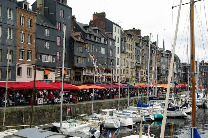 """Normandy Excursions by Navette Plus Cruise Services **HONFLEUR VILLAGE GUIDED PRIVATE TOUR**<br><br>**About the tour guide - Anne has a degree in History and Foreign Language(English and Spanish) and has obtained her professional tour guiding license since 2005. She had 3 years of professional practice in the museum """"Memorial de Caen"""" of WW2 and the DD landings. She has over 15 years of experience in guiding and accompanying international groups all over Europe**<br><br>-Above mentioned prices is per car (6 persons max)<br>-Private transfer from/to Le Havre or Honfleur ports and nearby hotel<br>-Comfortable and airconditioned minivan<br><br>Honfleur is one of the most charming town in Normandy. Let's discover its harbour and its typical architecture's houses, also Saint Catherine's church which is France's largest timber-built church."""