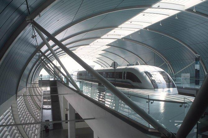 Traslado de llegada en el tren Maglev de alta velocidad: del Aeropuerto Internacional de Shanghái Podong al hotel, Shanghai, CHINA