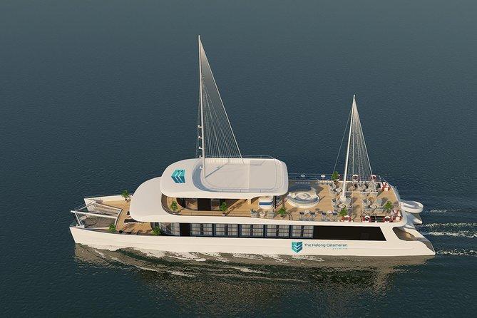 Luxury Day Cruise in Halong Bay-Lan Ha Bay (Water Slides-Catamaran Sailing), Halong Bay, VIETNAM