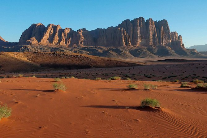 This tour can be described as a flying visit, suiting travelers who are just eager to see Wadi Rum on their Middle East tour. Wadi Rum for jeep ride. In 01 day you can experience the best of Wadi Rum, which is one of the best and most important sites in Jordan.<br><br>
