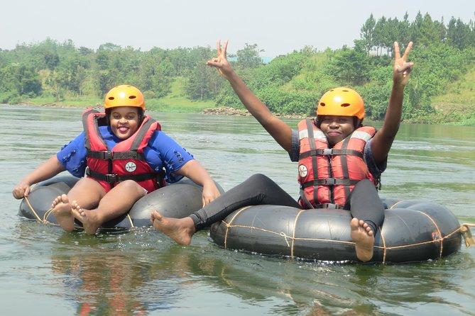 Tubing the Nile, Jinja, UGANDA