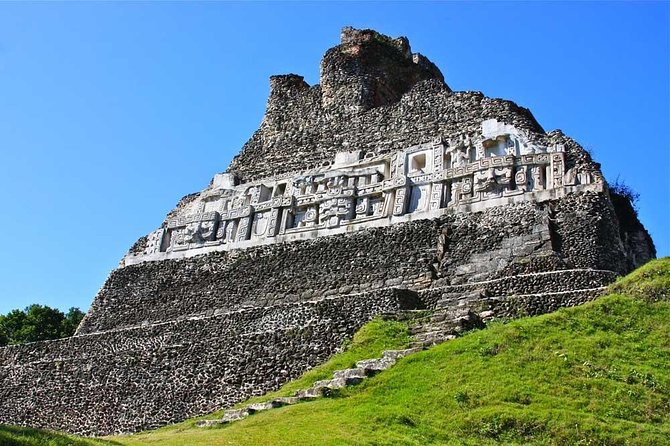 We will visit one of the most impressive Mayan Ruins in Belize, Xunantunich! After your guided excursion of Xunantunich Ruins, we head out to Jaguar paw where we gear up before heading out on a total of 8 zip lines. Once completed we head out for a 10-25 minutes hike to the caves for a tube ride that will awaken your sense of excitement. Float through mysterious limestone archways beckoning you into the mouths of centuries-old caves, holding untold stories of Maya rituals.<br>