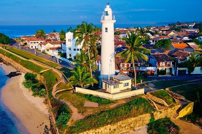 Set out on your 12-hour journey at 07.00 am, when your itinerary-guide will collect you from your hotel or Airport in a private Air-conditioned vehicle. Visit Galle Fort, a Portuguese-built and Dutch-fortified 16th-century fort with a complex history. Learn how the city's strategic location made it a hub for sea trade and a landing point for the island's colonial rulers. Stop by the Tsunami Photo Museum in Talwatte, which documents the devastating 2004 tsunami that struck Sri Lanka. Your guide will also take you to Meera Mosque Enjoy a local lunch before proceeding to the pristine Bentota Beach. On completion of the tour, you will be dropped off at your hotel.