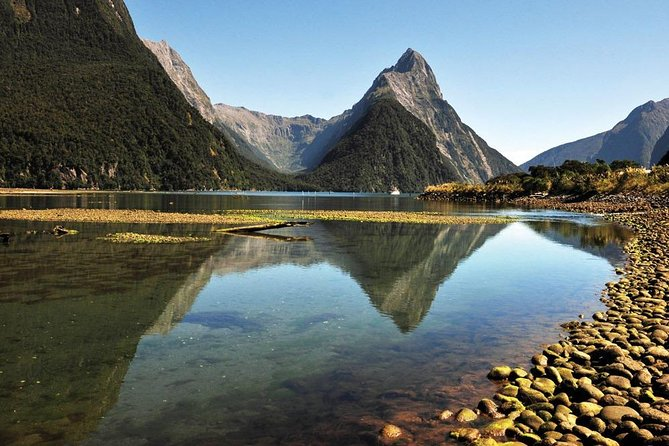 Marvel at the natural wonders of Milford Sound on this full day Heli Tour from Queenstown with a boat cruise on Milford Sound! <br><br>This multi-stop Milford Sound, Glaciers and Waterfallshelitouris anunforgettable way to experience the must-see highlights including a boat cruise on Milford Sound. <br><br>Get whisked away by helicopter, soar over the Fiordland National Park on a thrilling helicopter flight to Milford Sound, get up close to seals and dolphinson a Milford Sound nature boat cruise. <br><br>Followed by a snow landing on the peak of Mt Tutoko and then experience an unforgettable picnic and stunning photo opportunity below the waterfalls and hanging glaciers of the Earnslaw Burn Middle Earth waterfalls, one of the most magical locations featured in 'The Hobbit: An Unexpected Journey'before flying back to Queenstown over the Richardson Mountain range.