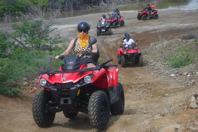 Join in on this half-day tour and get ready to discover the most beautiful parts of Curaçao on an ATV also known as a Quad. These top-of-the-line ATV's are suitable for experienced as well as inexperienced drivers. This Eastern Curacao tour provides an off-road adventure, in combination with spectacular views, unique sights and the opportunity to take a dip in the Caribbean sea. It is a unique tour as it quite often takes you off the beaten path with lots of opportunities to take pictures