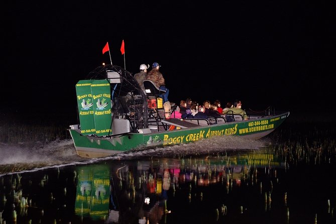 Night Airboat Ride at Boggy Creek Airboat Adventures by Orlando, Florida, Orlando, FL, ESTADOS UNIDOS