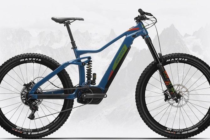 """Squamish's first electric mountain bike specialist. Exclusively offering only high-end e-bike rentals. <br><br>All our bikes are new Devinci 2020 models<br><br>Centrally located at the start of the most intensive trail network in Squamish<br><br>Locally owned and operated <br><br>Friendly, knowledgable staff can point you in the right direction and provide some local tips and information<br><br>2020 Fleet - all e-bikes<br>AC GX 11S - x-large - 27.5""""<br>FRAME - ALUMINUM OPTIMUM G04 170MM<br>FORK - FOX FLOAT 36 FACTORY FIT4 27.5 BOOST 110 180MM 44OS<br>REAR SHOCK - FOX DHX2 FACTORY SERIES 205X65 400 STD COIL<br>BATTERY - SHIMANO STEPS E8035 504WH LITHIUM-ION<br><br>DC GX 11S - in sizes: small, medium, large - 29"""" <br>FORK - FOX FLOAT 36 FACTORY EVOL 29 BOOST 110 160MM <br>REAR SHOCK - FOX FLOAT DPS EVOL LV FACTORY 185X55<br>BATTERY - SHIMANO STEPS E8035 504WH LITHIUM-ION<br><br>E-Griffon - cruiser - one size fits all<br>BATTERY - SHIMANO STEPS E8014 418WH LITHIUM-ION<br>FRAME - ALUMINUM OPTIMUM S03<br>"""