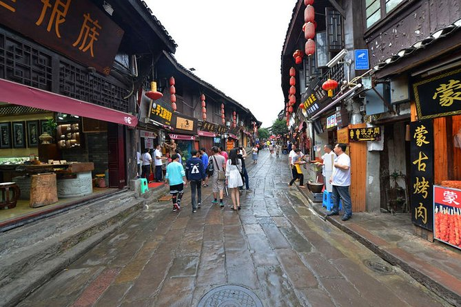 Chongqing Port Transfer Service with Half-Day Tour and Hot Pot Dinner, Chongqing, CHINA
