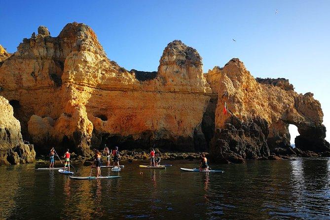 SUP Tour Lagos Grottos & Caves, Lagos, PORTUGAL
