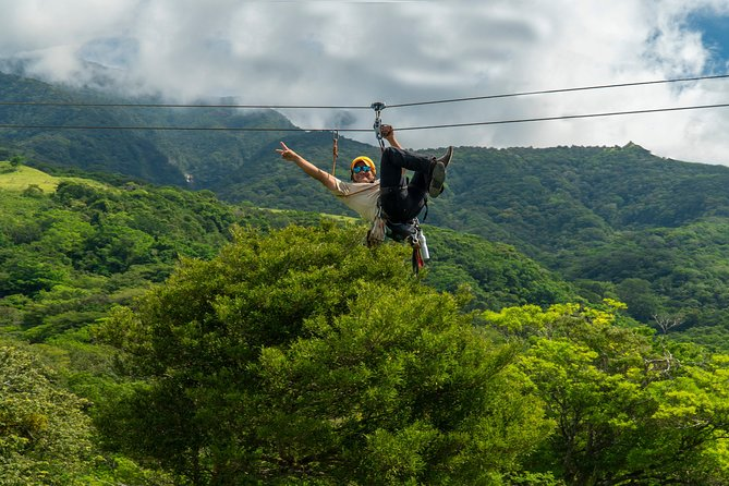 Deluxe & Private Zipline, Horseback Riding, Waterfall and Hot Springs, Tamarindo, COSTA RICA