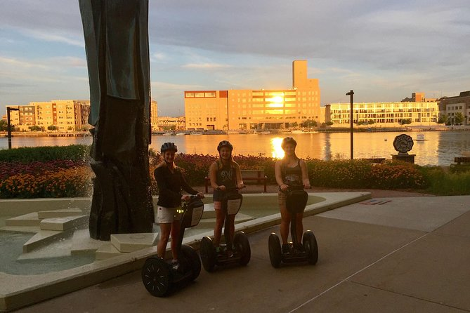 Sunset Tour<br><br>Glide in the downtown Green Bay area at twilight. Enjoy the beautiful sunset sights as you glide along the Fox River Trail, City Deck, and Broadway District.<br><br>This glide is in the downtown Green Bay area. You will enjoy the beautiful sunset sights as you glide along the Fox River Trail, City Deck, and Broadway District. <br><br>This glide traverses the Fox River and provides a very romantic date night or the perfect way to wind down with co-workers or friends.<br><br>The Green Bay area has a lot more to offer than just football. The Fox River cuts the city right down the middle, delivering beauty to the cityscape. You will enjoy a glide over a bridge that spans the Fox River then along the river on the Fox River Trail. You will experience the active City Deck and go through Downtown Green Bay. You will glide the Green Bay Nightlife at sunset <br><br>Visit our website in order to discover all of the tours we offer.<br>For a tour today call!