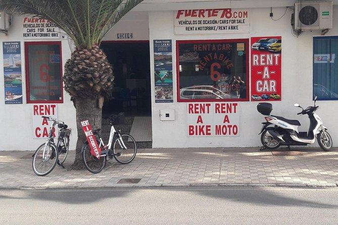 Alquiler de scooters 125c.c., Fuerteventura, Espanha