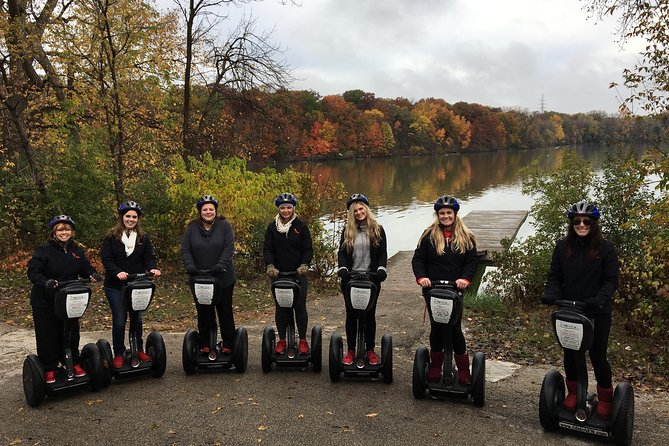 Appleton Local <br><br>You will explore the quaint town of Appleton on this Segway tour that takes you to the location of the world's first hydroelectric plant, the Paper Discovery Center, and along the Fox River!<br><br>Take in the scenery and get to know Appleton on a FUN Segway Tour.<br><br>Starting on active College Avenue, this glide takes us down to the flats of the Fox River, where we will visit the location of the world's first hydroelectric plant. The river provides a beautiful backdrop for this glide.<br><br>You are likely to see eagles, enjoy how the Segway rides on the hills, and have quick stops at top museums and attractions. This is a fun and exciting glide to much-hidden beauty and interesting sites around town.<br><br>This is Fox Cities' #1 Segway Tour!<br><br>Visit our website to discover all of the tours we offer.<br>For a tour today call!
