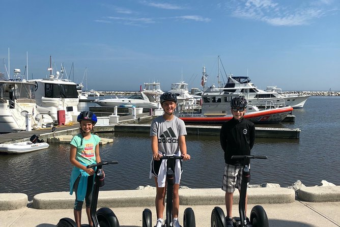 Cultured Sheboygan<br><br>You will glide along the Sheboygan River and the Lake Michigan shoreline, offering gorgeous views of Sheboygan and a chance to learn the town's rich maritime history.<br><br>There's no better way to tour Sheboygan than on a Segway! After a quick training, we'll be on our way!<br><br>You will view the lighthouse, schooner remains, shipwreck sites and the original location of the Sheboygan Life-Saving Station on this Segway tour.<br><br>Sheboygan has a lot to offer. Today, it is a tourist destination and major manufacturing area, but it also has a long maritime history. As we glide on the north and south sides of the Sheboygan river, you will experience all the signs of a vibrant community. We will glide next to Lake Michigan and pass the marina, various shipwrecks, and the John Michael Kohler Arts Center.<br><br>Visit our website to discover all of the tours we offer.<br>For a tour today call!