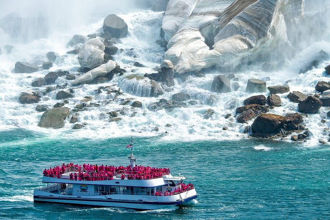 See everything | Taste everything | experience everything! -- Canada's Most Memorable Experience.<br>This approximately 4 hour tour will be packed full of adventurous activities that will have you seeing and experiencing the Canadian side of Niagara Falls like never before. There aren't many times when you're thrilled to get caught in the mist. But then, Hornblower Niagara Cruises isn't like any other experience.<br><br>Your safety is our priority! Feel safe with health & safety screenings, physical distancing, timed ticketing, reduced guest capacity and a focus on sanitizing. Whether you're coming from near or far, take home something special you can only get here in Niagara Falls, Canada – a memory! Everything we do is first class.<br><br>Please note when the Hornblower Cruise closes for the season you will be treated to a raid high above the falls at the famous Skylon Tower the Hornblower Cruise usually closed about the end of October and reopens about the middle of April depending on weather.