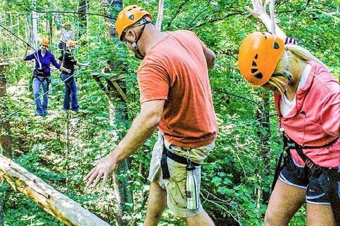 Zipline Forest Admission at Fontanel in Nashville, Nashville, TE, ESTADOS UNIDOS