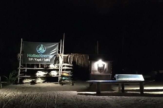 3 Maravillas: Puesta del sol, Bioluminiscencia y salida de la luna, Isla Holbox, MEXICO