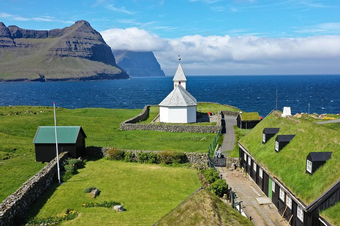 A whole day guided tour, were you will visit six islands in one day.  Pick up and drop of right at your hotel in Tórshavn. <br><br>After joining the tour, you can sit back and enjoy the stories from the tourguide and the fantastic surroundings outside while we head up North. <br><br>You will see the famous statue of the sealwoman, visit Kalsoy, Klaksvík, Kunoy, viđareiđi and many other places. <br><br>Several photostops are made on the way and you will be provided with a packed lunch and drinks also. <br><br>This is a tour with everything included, no extra fees so you can just enjoy the day and let the locals do everything for you.
