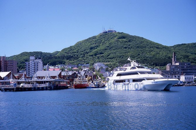 """【OUTLINE】<br>Take a cruise in the Hakodate Bay on an authentic compact cruiser!<br>Please enjoy a refreshing time while viewing the bay area from the sea.<br>After arriving back at the port, you can enjoy shopping and eating """"Today's Grilled Seafood"""" at seafood markets.<br><br>【HIGHLIGHTS】<br>・Enjoy the only full-blown cruise in Hakodate <br>・A 30-minute cruise in the Hakodate Bay! As the boat leaves and arrives at the bay area, you can easily plan sightseeing before and after cruising<br>・After leaving the boat, walk for 2 minutes to the Kaisen Ichiba seafood market and enjoy """"Today's Grilled Seafood""""<br>・Enjoy shopping at the Kaisen Ichiba, lined with local specialties from Hakodate and Hokkaido."""