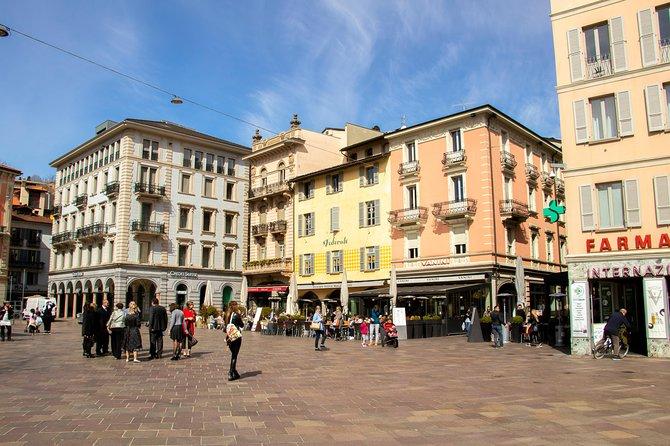 MÁS FOTOS, Architectural Walk of Lugano with a Local