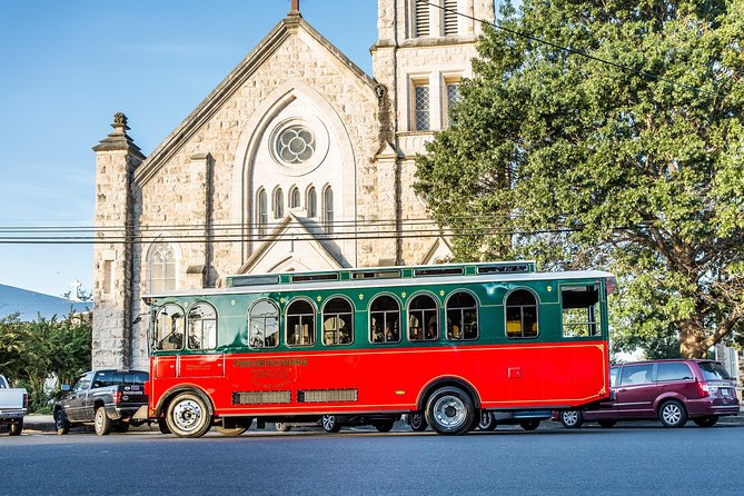 We are the Official Trolley Tours for the City of Fredericksburg, Texas.Tours are led by local historians and expert members of the community. Tours are fun, fact filled, and offer an opportunity to explore some areas that most tourists don't have time to see. Our German history is highlighted in our narrative and by viewing local landmarks of historic value. Fredericksburg has over 399 remaining historic structures within our district, many of which you will view from the large windows of the Trolley. This tour highlights our cultural offerings, old town, things to do, and early Texas - German ties that make Fredericksburg one of the top ranked places to visit in the United States!