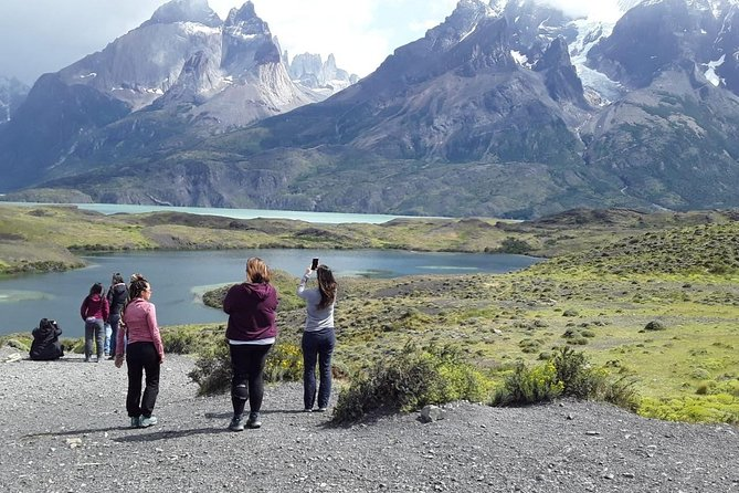 Join us for a day full of adventure in Patagonia. We begin our journey crossing the Patagonian steppe towards the Torres del Paine National Park. Our expert guides will take you to the best scenic spots where you can go safely.<br><br>This tour includes:<br> • A visit to the Torres del Paine National Park <br> • Sarmiento de Gamboa Lake Lookout <br> • Mylodon Cave <br> • Lake Pehoe <br> • Lake Grey <br> • Cerro Almirante Nieto <br> • Picnic for lunch