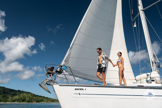 The tour is organized in a private arrangement only for you and your company. Enjoy a day cruising around the islands on a private luxury 51 ft (16 m) yacht accompanied by a personal English crew and take advantage of a flexible timetable and itinerary.<br><br>We start from any of Gili's Islands and spend a day surrounded by amazing wild islands, untouched underwater world and unbelievable views. Snorkeling, diving, kayaking - all can be organized by request. <br>At the sunset time we offer you to enjoy BBQ dinner on yacht.