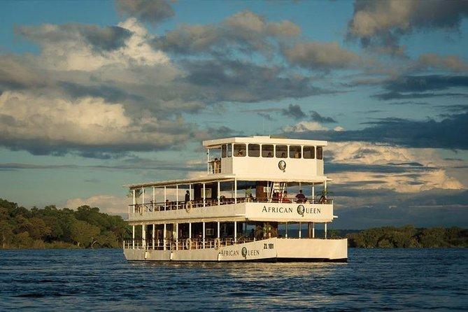 Zambezi River Sunset Cruise, Livingstone, ZIMBABUE