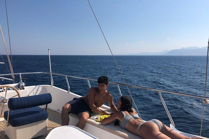 Mykonos to Delos & Rhenia Cruise ,BBQ&drinks, optional Delos Tour & Transfer, Miconos, GRECIA