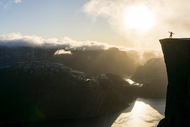 Preikestolen Guided Hike - Low-Season, Stavanger, NORWAY