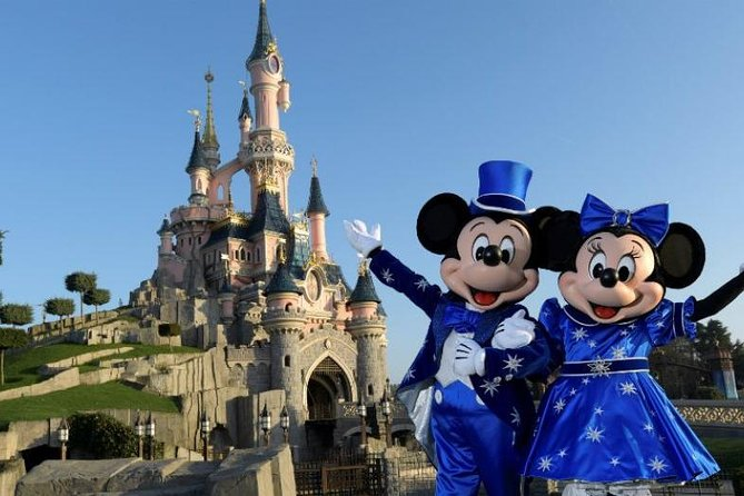 Private Driver from Disneyland Paris to Paris Charles-de-Gaulle CDG Airport, Marne-la-Vallee, FRANCIA