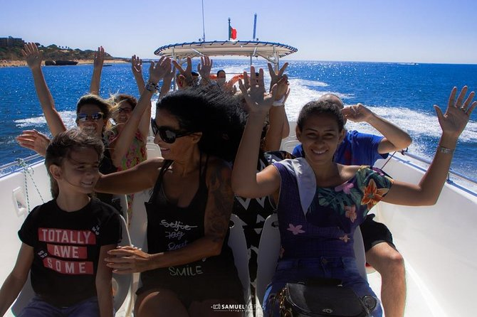 Benagil Caves Dolphin Watching and Swimming Boat Trip, Albufeira, PORTUGAL