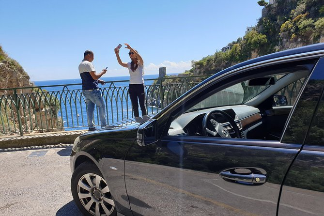 Private transfer from Naples to Amalfi with tour stop in Pompeii (2 hours), Napoles, ITALY