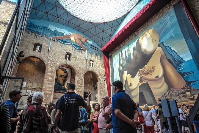 This is without doubt, one of the most complete Salvador Dalí tours available. Spend the morning at the unique Dalí Museum in Figueres and finish the day either on his beloved Costa Brava, visiting his home in Port Lligat and the magificent Cap de Creus, or at the castle he built for his wife. It's a complete surrealistic experience. On this small group walking tour, you'll receive personalized attention from your guide. And by booking ahead, you won't waste any time waiting in line!