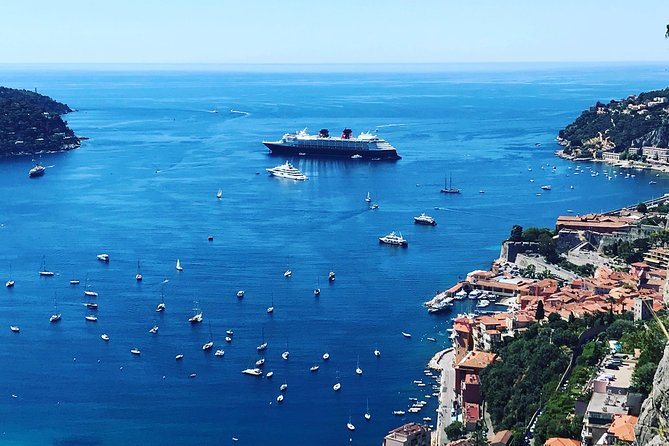 We will meet you at Villefranche Port and you will have the privilege of discovering the French Riviera onboard a luxury air-conditioned minivan. Explore the wonders of the French Riviera and visit Monaco and Monte-Carlo, or take a relaxing stroll through the history-filled streets of medieval villages of Eze.