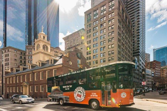 Tour en tranvía por Boston con paradas libres, Boston, MA, ESTADOS UNIDOS