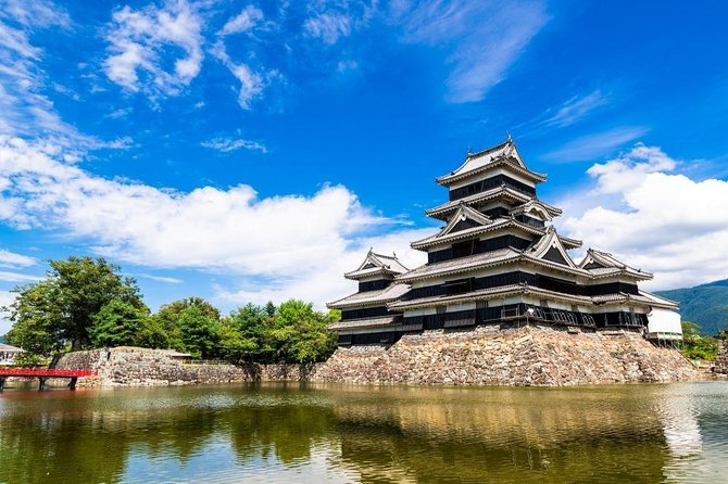 This value-packed trip with a nationally/state licensed and experienced multilingual tour guide is a fantastic and efficient way to explore Matsumoto!<br><br>Matsumoto is an attractive, cosmopolitan city featuring a superb castle, pretty streets, galleries, and cafes. Matsumoto is a great stepping stone on your way to the Northern Alps, or you can simply enjoy the city's fresh air and dramatic scenery of the nearby mountain peaks.<br><br>Let us know what you would like to experience and we will customize a six-hour tour that's best for you!<br><br>Note*1: Please select your must-see spots from a list in the tour information to create your customized itinerary.<br>Note*2: Nationally and State Licensed Tour Guide-Interpreter certification is issued by the Japanese government requires a good knowledge and understanding of Japanese culture and history.