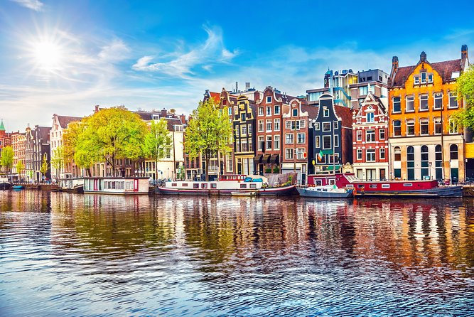 Amsterdam Canal Cruise in Classic River Boat With Drinks & Dutch Cheese, Amsterdam, HOLANDA