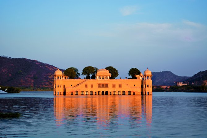 Explore the beautiful city of Jaipur in an 8 Hour private tour. Your driver and guide will pick you up from Hotel as per desired time, Visit the tall standing Amber Fort, Step Well, Sheesh Mahal, Jal Mahal (Water Palace), Hawa Mahal (Palace of Winds), Jantar Mantar (Observatory), City Palace.