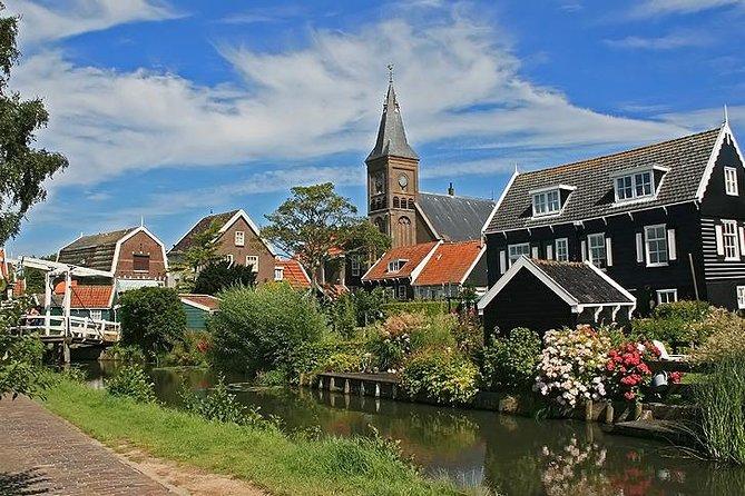 Tulips Flowerfields + Zaanse Schans Windmills + Volendam + Marken + Edam, Zaandam, HOLANDA
