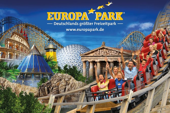 Come enjoy high-end transport to Germany's largest amusement park, Europa Park. This park is located in Rust in Germany, 1 hour and 30 minutes from Baden-Baden. Our vehicles can carry up to 8 passengers. Our drivers will pick you up at the desired location, to drop you off to this beautiful amusement park. They can also return you at the end of the day, just indicate it in advance when booking.