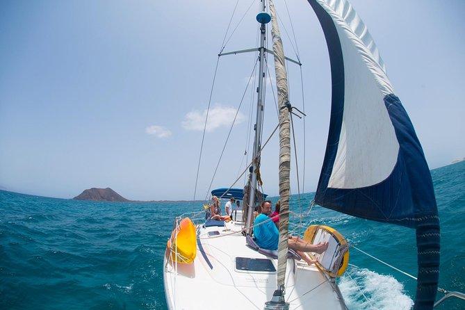 Excursion / Navegar alrededor de Isla de Lobos, Fuerteventura, ESPAÑA