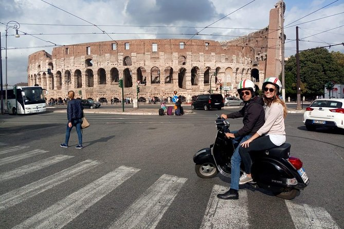When in Rome, do as the locals do and zip around the city by Vespa. Riding on the back of the vintage scooter, you'll see all the major landmarks and some lesser-known sights in one half-day tour. Bypass the traffic to discover piazzas and panoramas, and jump off to snap photos of the Colosseum, Trevi Fountain, and more. The 3-hour private tour includes an espresso or gelato, plus your very own private driver.
