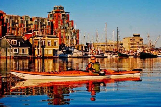 Victoria Harbour Sunset Kayak Tour, Isla de Vancouver, CANADA