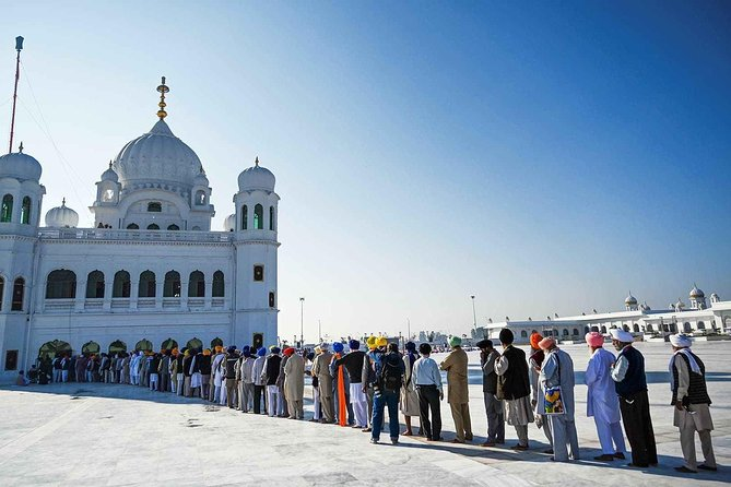 The Kartarpur Corridor is a visa-free border crossing and secure corridor, connecting the Gurdwara Darbar Sahib in Pakistan to the border with India.